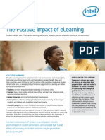 The Positive Impact of eLearning