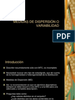 11. Medidas de Dispersion o Variabilidad[1]