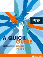 Homelessness Services - Brochure