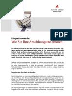 eBook (kostenlos) zum Thema Verkaufsabschluss