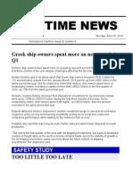 Maritime News 26 Apr 14