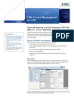 SAP Invoice Management