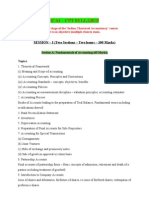 ICAI CPT Syllabus
