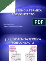 3-2 Resistencia Térmica Por Contacto