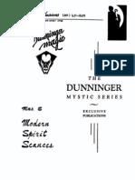 Al Mann - Dunninger Mystic Series - Modern Spirit Seances