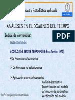 Análisis en El Dominio Del Tiempo Procesos Estocasticos