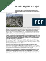 Problemas de La Ciudad Global en El Siglo XXI