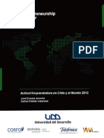 GEM Chile 2012 Reporte Actitud Emprendedora Web