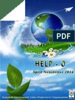 HELP-O April Newsletter - 2014