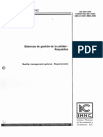 ISO 9001 2008 - Sistemas de Gestión de La Calidad - Requisitos