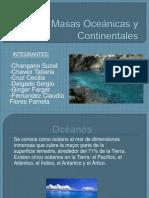 Corrientes Marimas y Continentales