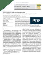 2010A Novel Statistical Image Thresholding Method