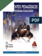 LINEAMIENTO PEDAGOGICO DEL PROYECTO HUASCARAN.pdf