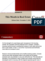 This Month in Real Estate November Canada