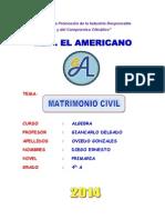 Monografia - Matrimonio Civil