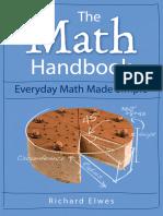 The Math Handbook Everyday Math Made Simple