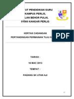 BAHAGIAN B-proposal Ptndgn Tuju Kasut