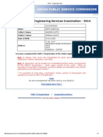 Arpit UPSC - Registration Slip