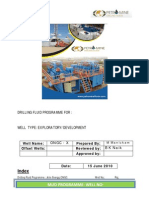 Drilling Fluid Programme for Petromine