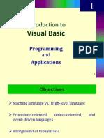 Visual Basic (VB 6.0) - Introduction