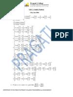 Complete Solution Mathematics II Sem (CSVTU)