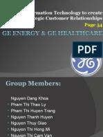 GE Energy & GE Healthcare