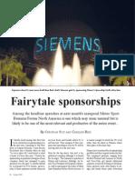 Fairytale Sponsorships