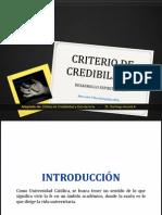Semana 4 - Criterio de Credibilidad