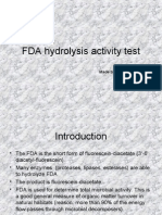 FDA Hidrolysys Activity Test