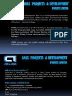 Anax Projects & Development Pvt. Ltd.