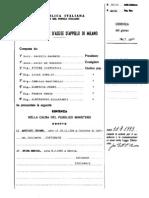 2a Corte Assise d'Appello Sentenza PAC 1993