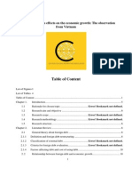 Dissertation_Foreign Debt and Its Effects on the Economic Growth
