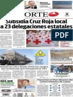 Periódico Norte de Ciudad Juárez edición impresa del 8 mayo de 2014