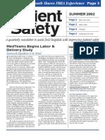 PSC Newsletter 2002 Summer