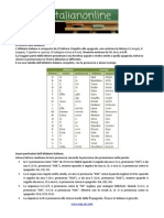 01 - Lezione Uno - L'Alfabeto Italiano