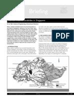 Singapore Landslide History