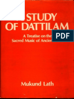 A Study of Dattilam - Mukund Lath