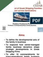 Poutziouris_Development of Greek Shipping Firms Across Generations _ Hellenic Centre April 2014