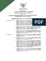 KMK No. 459 Ttg Pedoman Penyelenggaraan Pelatihan Internasional Pengurangan Resiko Bencana