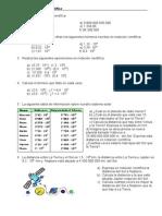 Ejercicios de Notación Científica (1)