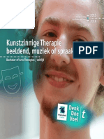 Brochure Kunstzinnige Therapie