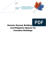 Seismic Hazard, Canadian Codes