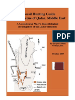 Fossils of the Miocene Dam Formation of Qatar (2009)