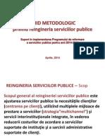 Prezentare Ghid Reingineria Serviciilor Publice