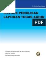 Pedoman Penulisan Lap TA PSD III T Mesin Undip