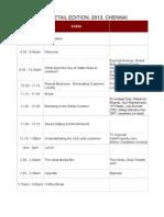 Agenda Draft - Retail Chennai Current