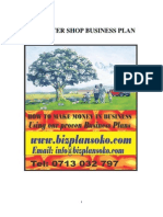 Business plan for Computer shop
