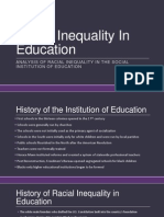 racial inequality in education
