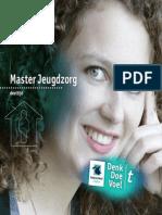 Brochure Masteropleiding Jeugdzorg