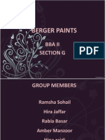 Berger Paints Final Ppt